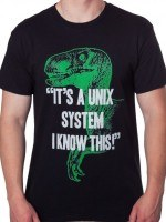 Unix System Jurassic Park T-Shirt