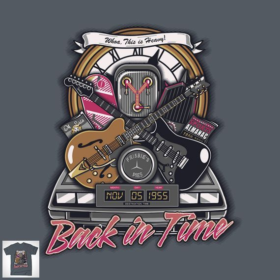 BACK IN TIME CREST