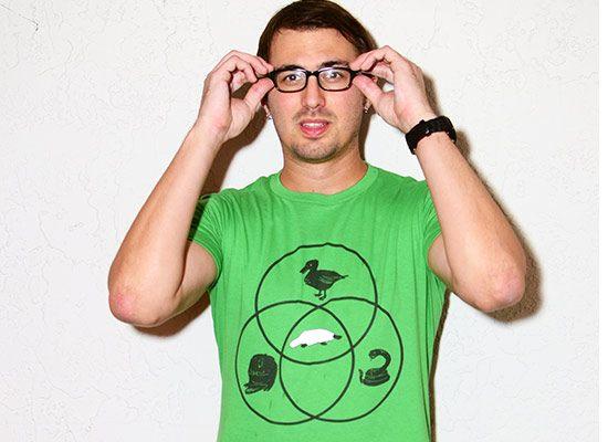 Platypus Venn Diagram T Shirt The Shirt List