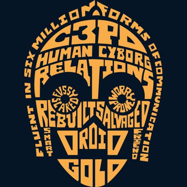 C-3PO Quotes T-Shirt -...C 3po Quotes