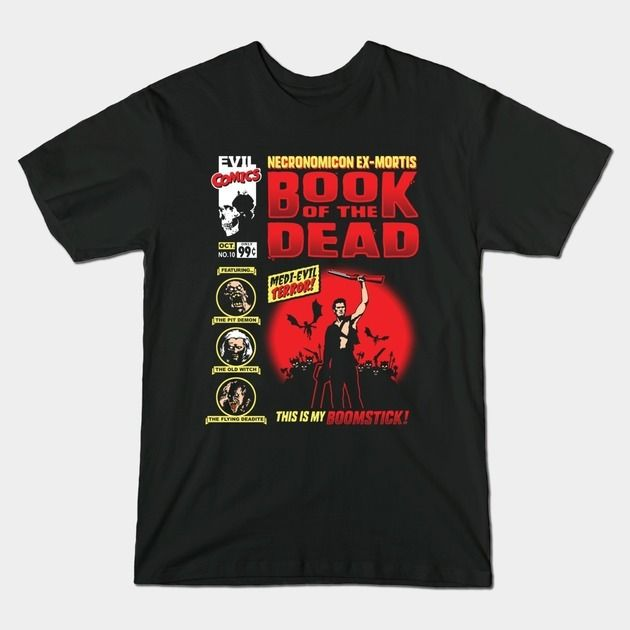 book of the dead t shirt