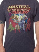 Characters Masters of the Universe T-Shirt