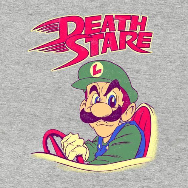 Luigi S Death Stare T Shirt The Shirt List