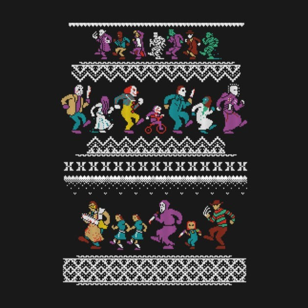 MONSTER HOLIDAY SWEATER