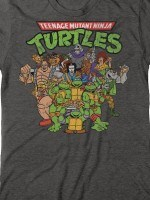 Ninja Turtles Cast T-Shirt