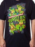 TMNT Fearsome Fighting Team T-Shirt