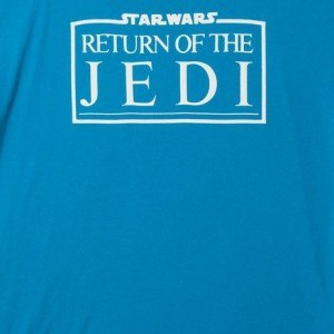Turquoise Return Of The Jedi Logo Star Wars