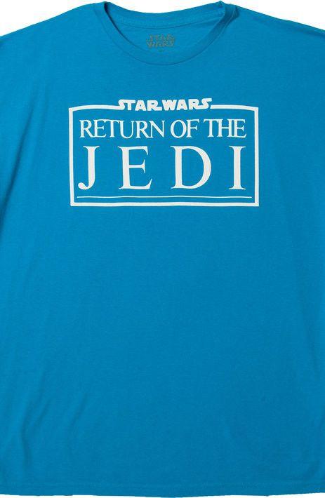 Turquoise Return Of The Jedi Logo Star Wars