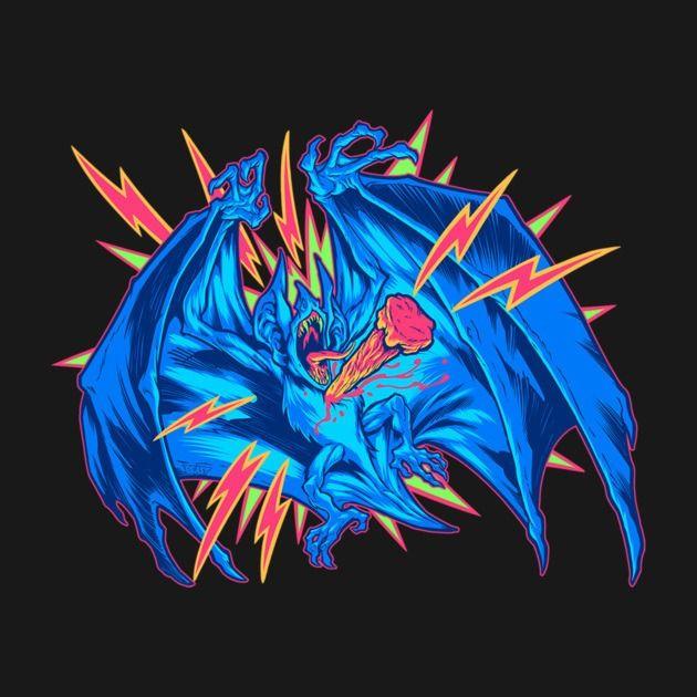 VAMPIRE BAT: STAKED!