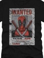 Wanted Deadpool T-Shirt