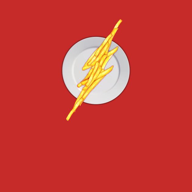 Flash food dc comics the flash t shirt the shirt list - Cuisine flash but ...