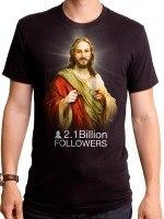 Jesus Two Billion Followers T-Shirt