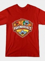 POKEMANIACS (STARTERS VERSION) T-Shirt