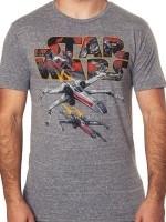 Star Wars X-Wing Starfighter T-Shirt