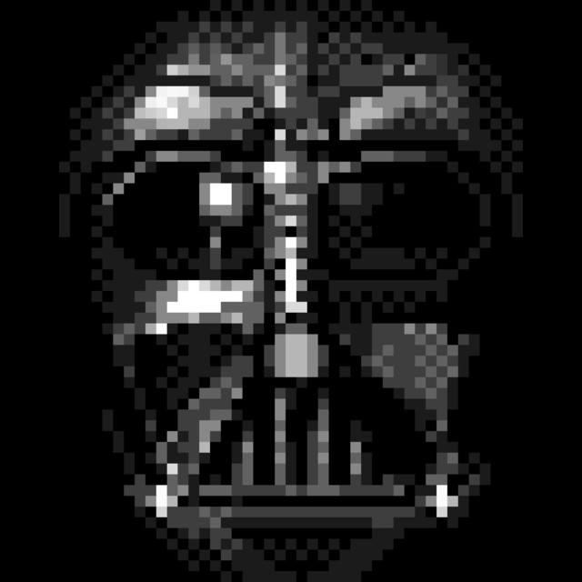 Darth Vader Pixel Face T Shirt The Shirt List