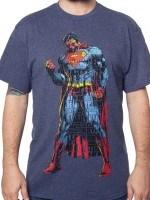 Typographic Superman T-Shirt