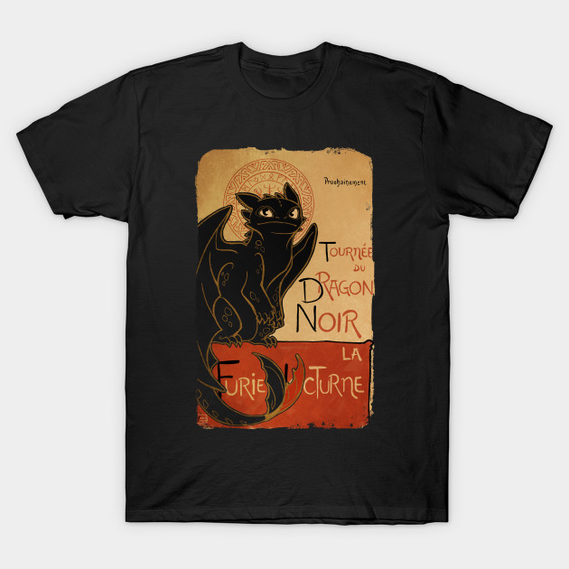 Le Chat Noir Toothless T-Shirt