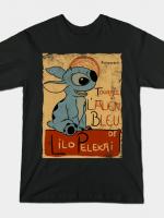 TOURNEE DE L'ALIEN BLEU T-Shirt