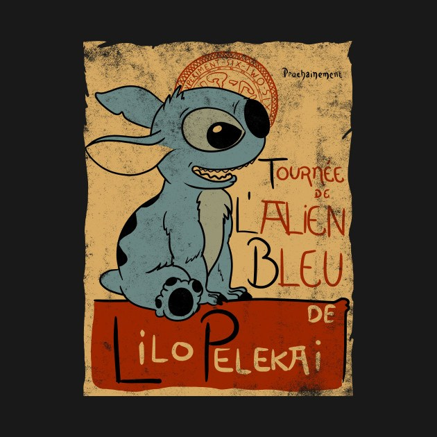 TOURNEE DE L'ALIEN BLEU