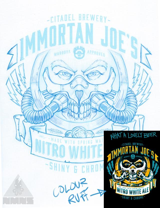 Immortan Joe's Sketch
