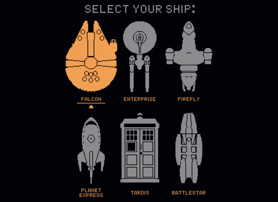 Select Your Ship