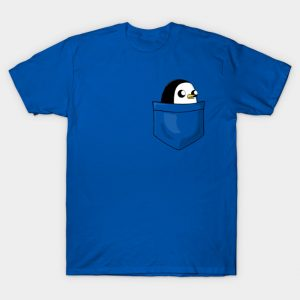 There's an evil penguin in my pocket!