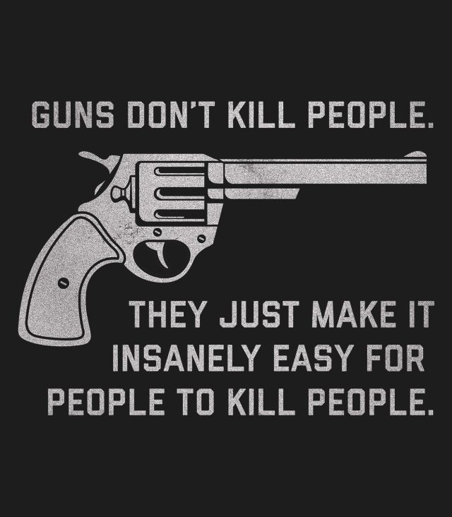 guns dont kill people people kill people essay Guns don't kill people, but gun bans do  many evil people use guns illegally to commit crimes against innocent people, including children, but many more good people protect their friends .