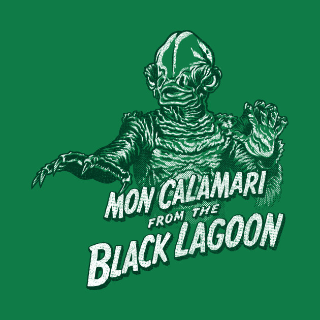 Mon Calamari from the Black Lagoon