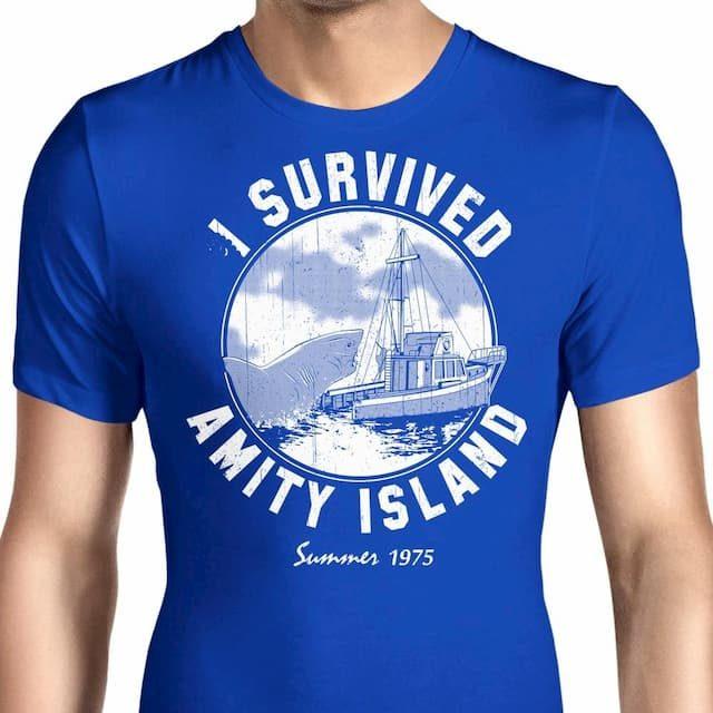 I Survived Amity Island T-Shirt