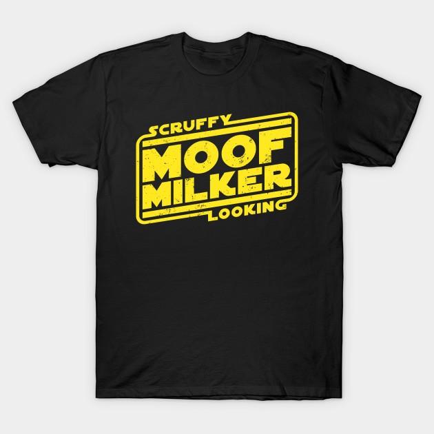 scruffy looking moof milker t shirt the shirt list