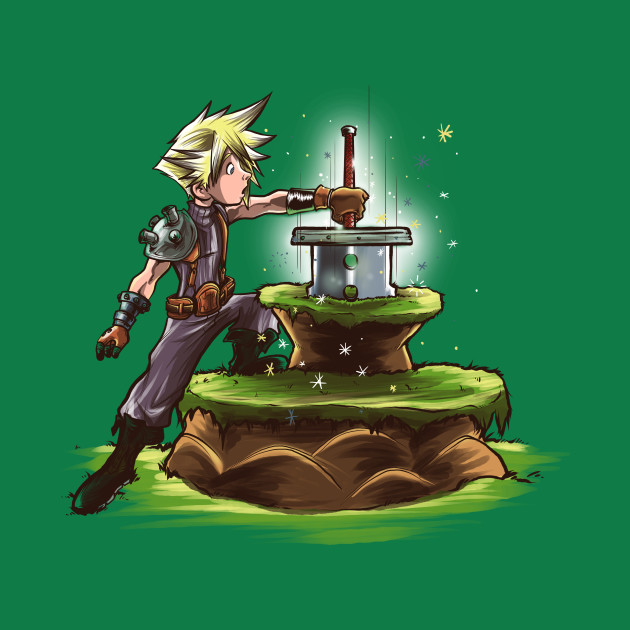 The Buster Sword in the Stone