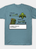 A Wild Cthulhu Appeared T-Shirt
