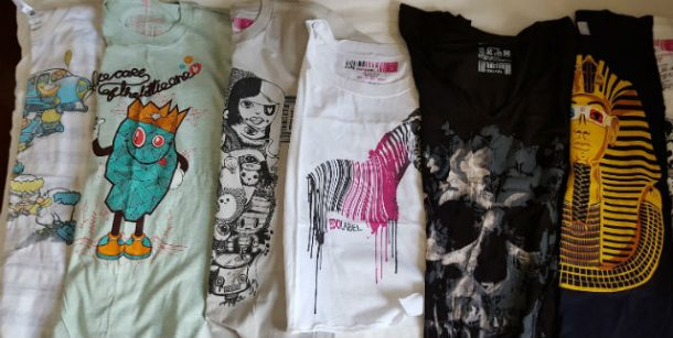Edo Label T-Shirt Selection