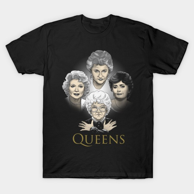 Golden Queens Girls Shirt List