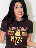 You Are Not Pizza T-Shirt