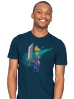 The Blocky Hero of Midgar T-Shirt