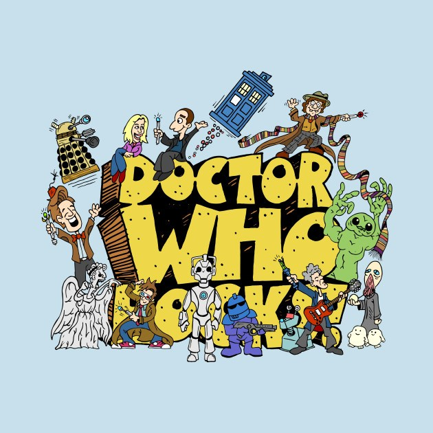 doctor who rocks doctor who t shirt the shirt list