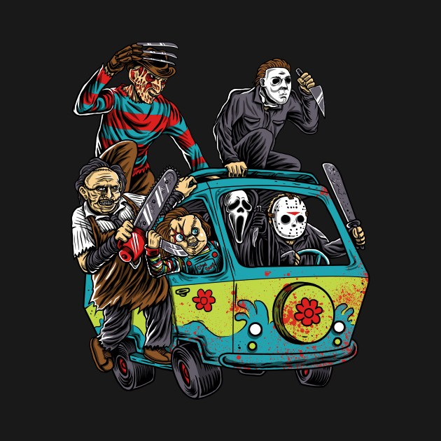 25 Best Ideas About Texas Chainsaw Massacre On Pinterest: The Massacre Machine Horror Movie Mashup T-Shirt