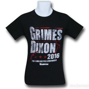 Walking Dead Grimes & Dixon 2016