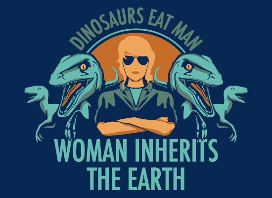 Woman Inherits The Earth