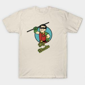 Fallout t shirts a list of fallout tees on the the shirt for Wonder boy t shirt