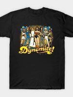 SuperWomen of the 70s - DyNoMite! T-Shirt