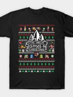 12 Games of Christmas - Ugly Christmas Sweater T-Shirt