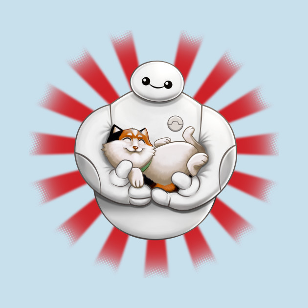 Baymax and Hairy Baby