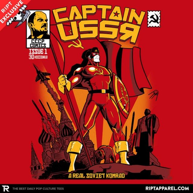 Captain USSR: Issue 1