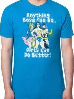DC Comics Girls Can Do Better T-Shirt