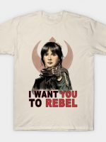 I Want You to Rebel T-Shirt