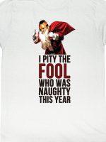 Mr. T Santa T-Shirt