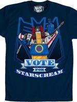Transformers Vote For Starscream T-Shirt