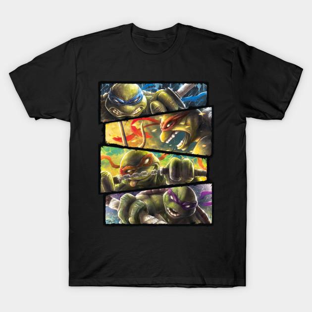 Turtle Power Teenage Mutant Ninja Turtles T Shirt The